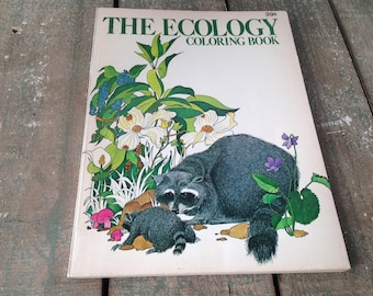 The Ecology Coloring Book Earth Preservation