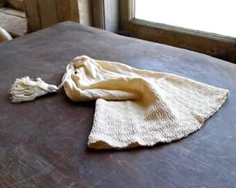 Victorian Silk Knit Night Cap