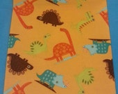 Size 2T Dinosaur Hickman Hider - a stylish, comfortable accessory for children with central lines, g-tubes, NG tubes, etc.