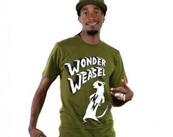 Wonder Weasel Shirt, Weasel Shirt, Men's Weasel Shirt, Shirt for Men