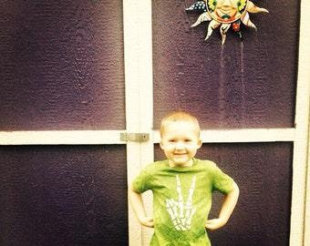 Batik Dead for Peace T Shirt- Size  2T, 4T, 5/6 or 7