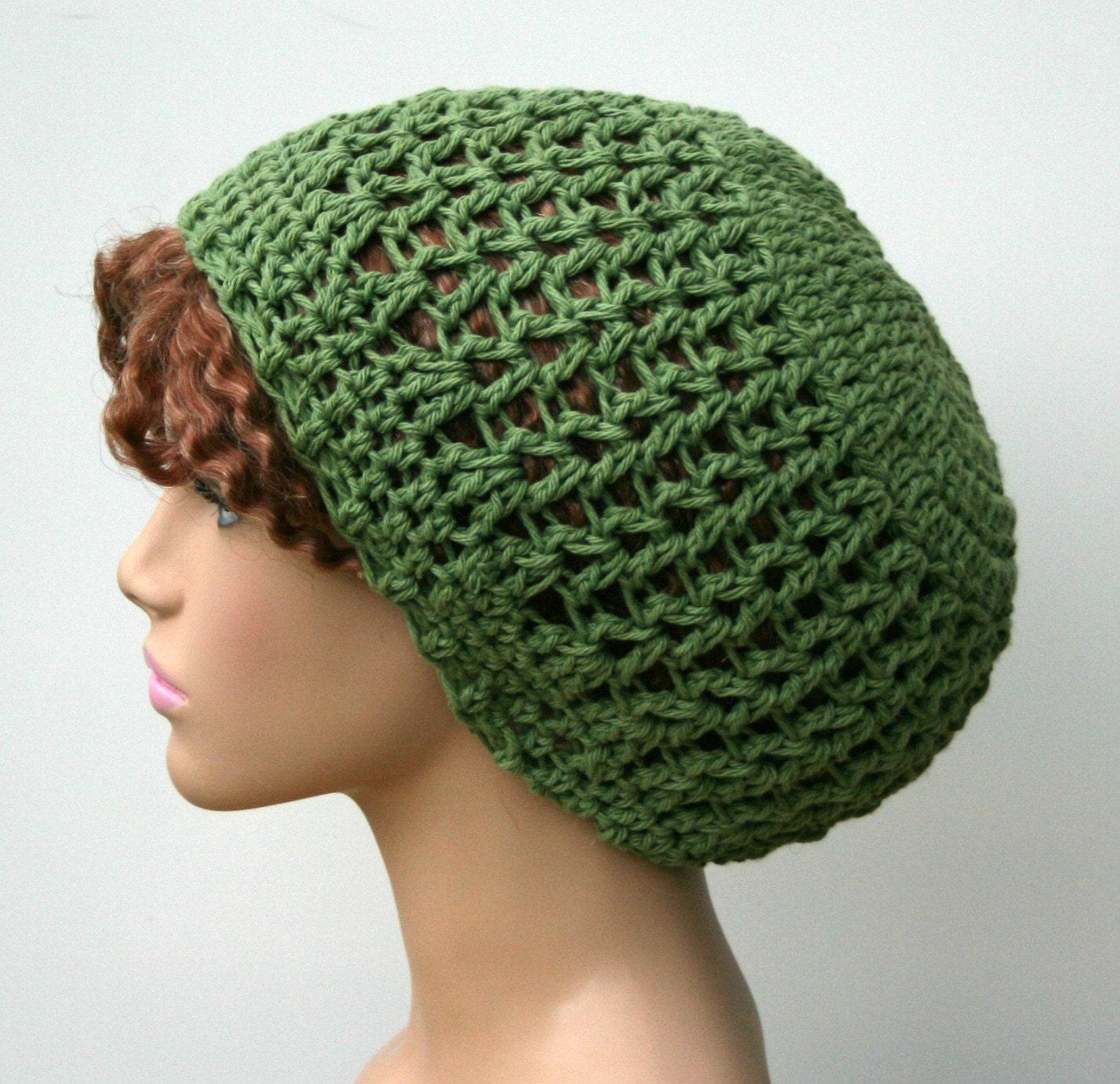 Crochet Slouch Hat: Crochet Slouchy Hat Slouchy Beanie Hat Cotton Beanie Small