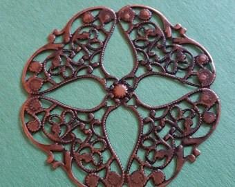 6pc antique copper finish 64mm wraps-9831