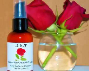 Rosewater Facial Cream (Paraben Free)