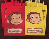 Made to Order - Curious George Gift Bags