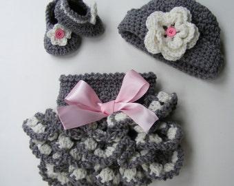 Crochet Pattern Ruffled Diaper Cover Pattern Shoe Pattern Bootie Pattern Crochet Hat Pattern Ebook 2