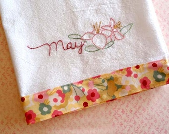 May Lily PDF Hand Embroidery Pattern Instant Digital Download