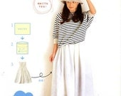 Straight Stich Easy and Stylish Wardrobe - Japanese Craft Book