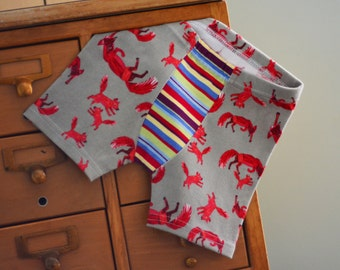SpEcIaL eDiTiOn - Little Red Fox (with or without stripes) - children's boxer briefs (made to order)