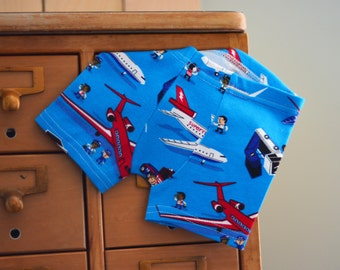 SpEcIaL eDiTiOn - Superfly Airline airplane / aeroplane print children's boxer briefs - custom size, made to order
