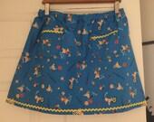 Japan A-line Elastic Waist Plus Skirt lucas du porcelet french pig