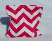 Boo boo pack- hot/cold therapy rice bag- removable cover-Pink chevrons