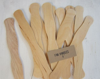 100 Wooden Fan Handles, Wedding Fan Stick, Wedding Ceremony Fan, Auction Fan Handle, Baby Shower Fan , Wood Fan Stick, Beach Fan Handle, F01