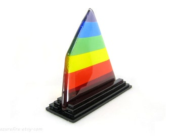 Standing Glass Rainbow,Triangle Rainbow,Desk Rainbow