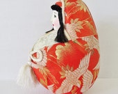wedding doll, Japanese in brocade