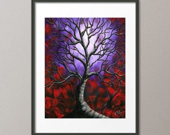 Gallery Canvas and Fine Art Prints Tree Scenic Landscape Abstract Modern Contemporary Elena