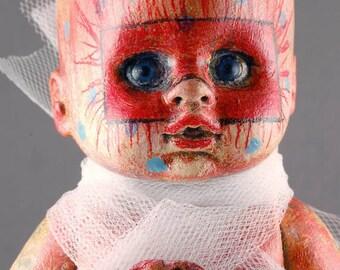 Laurie Geller Handmade Re-Purposed Art Doll...STELLA