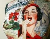 Fabulous Decorative Vintage Glamour 1920s Mannequin Dressform Bust - Tallulah