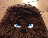 Chewbacca Beanie Chewbacca Hat Chewy Beanie Star Wars Beanie Chewbacca Costume Star Wars Costume Wookie Beanie Star Wars Fan