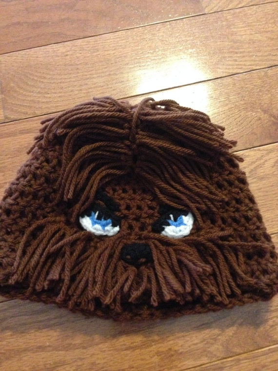 Chewbacca Beanie Chewbacca Hat Chewy Beanie Star Wars Beanie