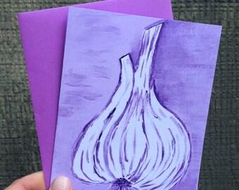 Garlic Card #2