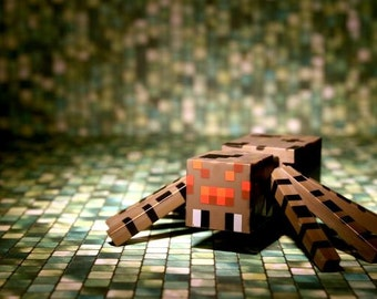 Mine Craft Spider - Photograph - Various Sizes