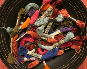 Embroidery Floss - 36 Skeins Assorted Colors
