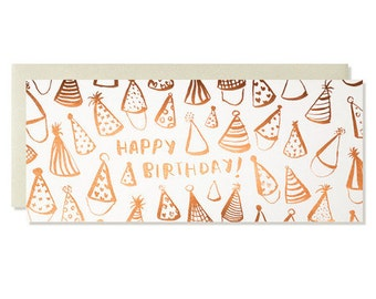 Happy Birthday! Copper Foil Card