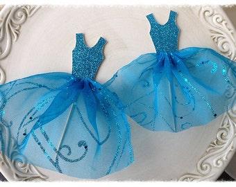 Cinderella Princess Ballgown Cake Topper for Birthday Party Birthday Decoration