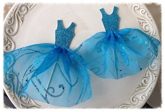Cinderella Princess Ballgown Cake Topper for Birthday Party Birthday ...