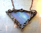 Elven Shard, Stained Glass Necklace