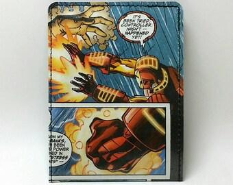 Sewn Comic Book Wallet - Iron Man Design 15