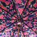 Reserved for Samantha. vintage umbrella very cool old umbrella floral has cover carved wooden handle very pretty
