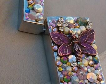 Fairy Bling Bic Mini Lighter Case