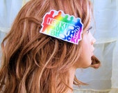 Neon Retro 80's NKOTB Hair Clip MTCoffinz