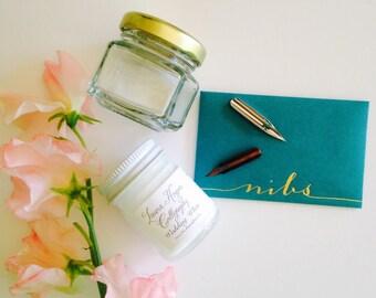 White Calligraphy Ink Kit