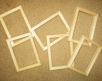 Mould  and deckle frames (6)