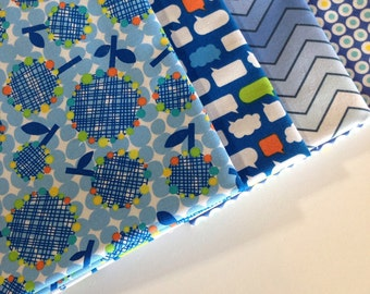 SALE Blue is best fabric bundle, Quilt fabric, Blue fabric, Sale fabric bundle, Cotton fabric, Fabric by the yard, End of the Year Sale