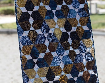 MINI Quilt Pattern Jaybird Quilts LOTUS Julie Herman Quilting Sewing
