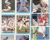 132 Old VINTAGE 1992 DONRUSS BASEBALL Picture Cards