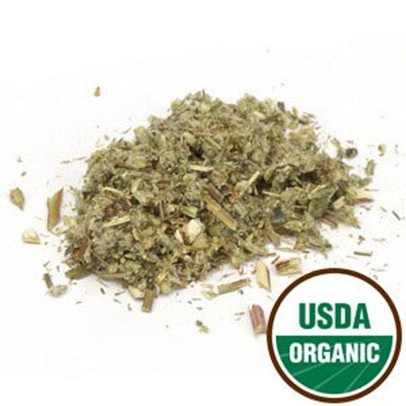 Organic Mugwort Herb C/S - 4 ounces