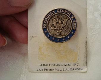 1989 George W Bush Tack Pin