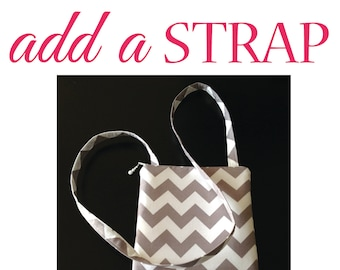 ADD A cross-body STRAP only - to any nursing purse / nurse pouch, medical case bag