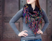 Instant PDF Download, Urban Scarf, Crochet Pattern
