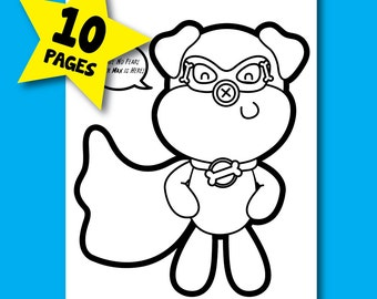 Super Max Coloring Pages
