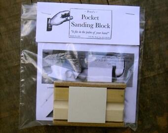 Peter's Pocket Sanding Block - from Notforgotten Farm