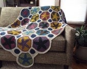 Brooklyn Star Granny Square Crochet Pattern Step By Step Instructions Pattern Only Download