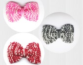2 color blended Knit Bow