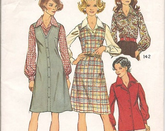 Simplicity 5913 Womens Jumper Blouse Pattern Size 18 20