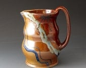 Water Pitcher - Desert Colors - Handmade Clay Pitcher